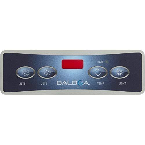 Balboa 10752 Lite Duplex Digital 2 Jet/Light Spa Control Overlay - Lite Duplex Digital Spa