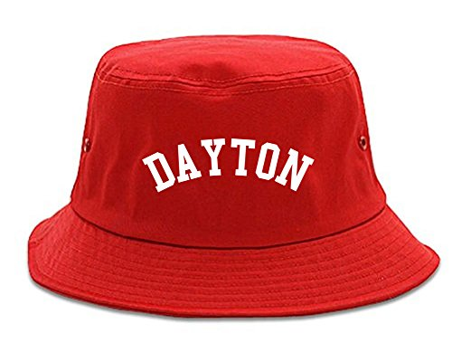 Dayton Ohio Bucket Hat Red
