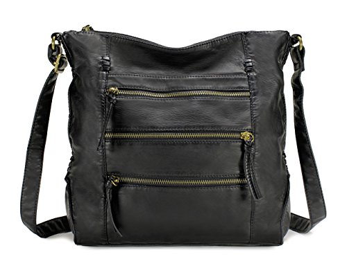 side bags for women black - 7