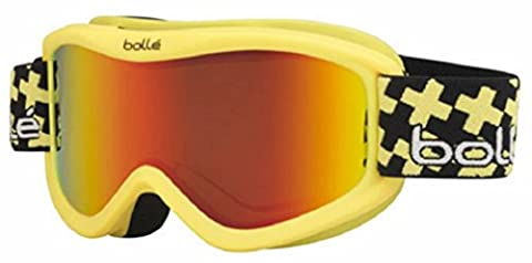 Bolle Volt Plus Goggles, Matte Yellow, Cross Sunrise Lens