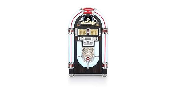 Ricatech RRR3000 - Jukebox Retro de 7 Colores con 3 velocidades ...