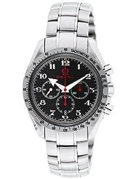 OMEGA Speedmaster black dial automatic winding 100M waterproof chronometer 3558.50 Men's watch