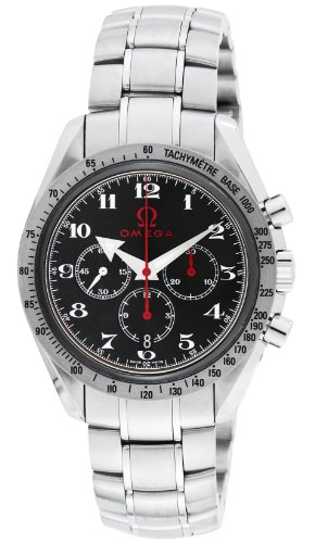 OMEGA Speedmaster black dial automatic winding 100M waterproof chronometer 3558.50 Men's watch (Omega Speedmaster Chronometer)