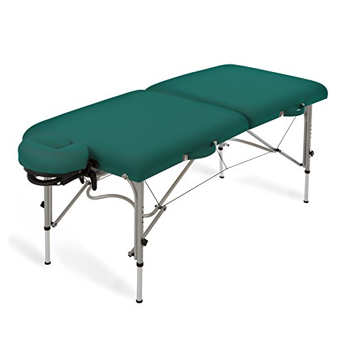 EARTHLITE Luna Portable Massage Table Package - Lightweight, Aluminum Frame incl. Face Cradle & Carry Case for up to 600lb - Massage Package