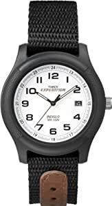 Timex Men's T43892 Expedition Camper Black Nylon Strap Watch