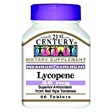 21st Century Lycopene 25mg, 60 Tablets Each (Pack of 4)