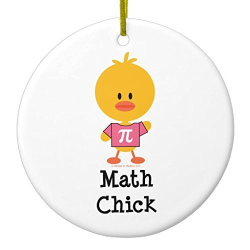 Valentine Herty Unique Designed Christmas Hanging Ornament Math Chick Anniversary Gift