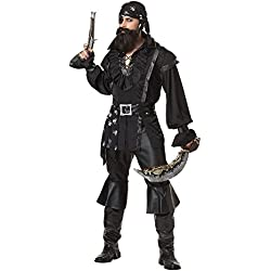 California Costumes Men's Plundering Pirate Adult