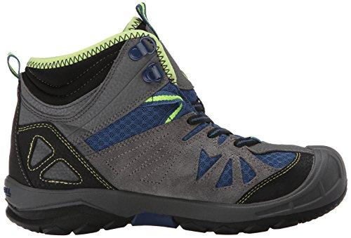 Merrell CAPRA WTPF Jungen Trekking & Wanderstiefel Grau (Grey/Blue)