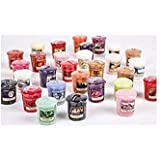 Yankee Candle 5 x Randomly Assorted Official Votive Samplers - Fragrances From The Full Classic Range