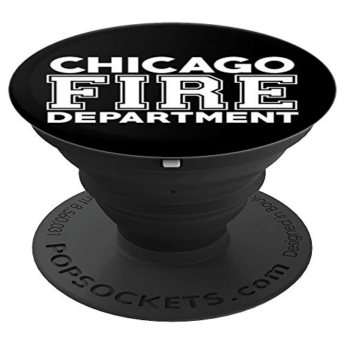 City of Chicago Fire Department Illinois Firefighter - PopSockets Grip and Stand for Phones and Tablets