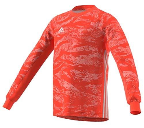 adidas AdiPro 19 Youth Goalkeeper Jersey Long Sleeve (Large, semi Solar red)
