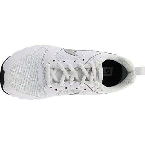 black Air Max Wmns blanco white Donna Motion Metallic Bianco Silver Nike Scarpe Sportive 7xUpww