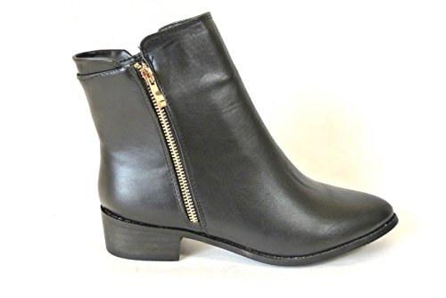 mujer 1 Black 752 Botas chica Chelsea SKO'S wCqx4t4ag