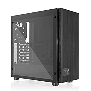 RIOTORO Full Tower, Fully Customizable RGB Color Gaming Case (CR500 - Tempered Glass ATX Mid Tower)