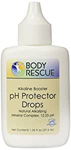 Body Rescue Alkaline Booster Ph Protector Drops, 1.25 Fluid Ounce