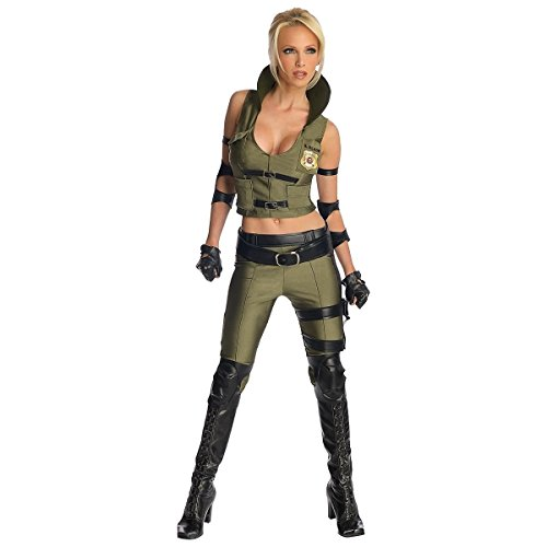 Sonya Blade Costume - Small - Dress Size -