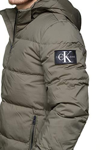 Leaf Klein Calvin Jeans Grape Hooded Piumino 7wxBqX