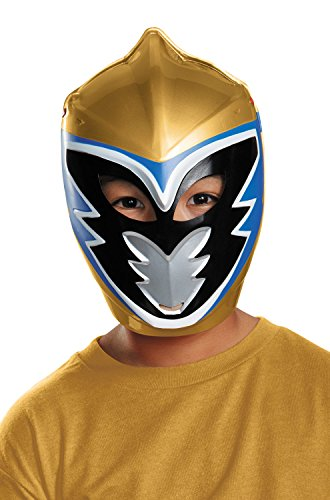 Gold Ranger Dino Charge Costume (Gold Ranger Dino Charge Vacuform Mask)