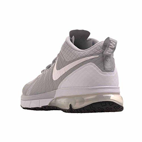 Nike Heren Air Max Tr180 Crosstrainer (10, Wolf Grijs / Wit-zwart)
