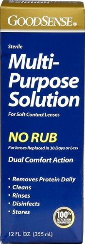 Good Sense Multi-Purpose Solution, For Soft Contact Lenses 12 fl oz (355 ml)