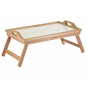 Amazon Com Winsome Wood Breakfast Bed Tray With Handle