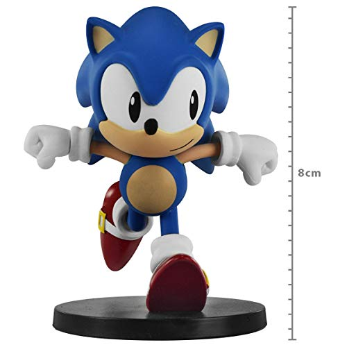 Action Figure Sonic The Hedgehog Boom Series Vol2 - Sonic Running First4figure Multicor