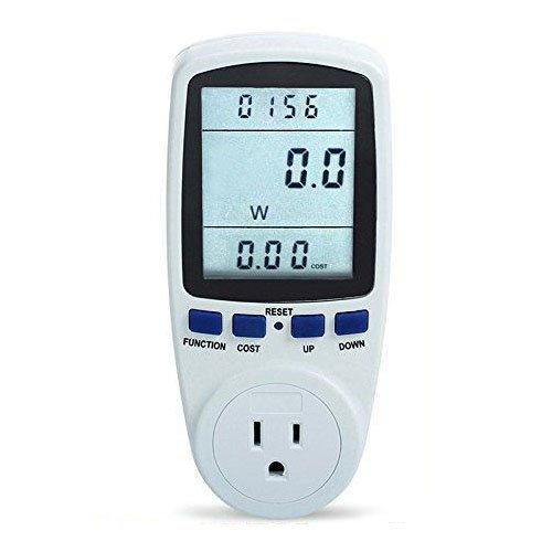 TOOGOO(R) TS-836A Plug Power Meter Energy Watt Voltage Amps Meter with Electricity Usage by TOOGOO(R) (Image #5)