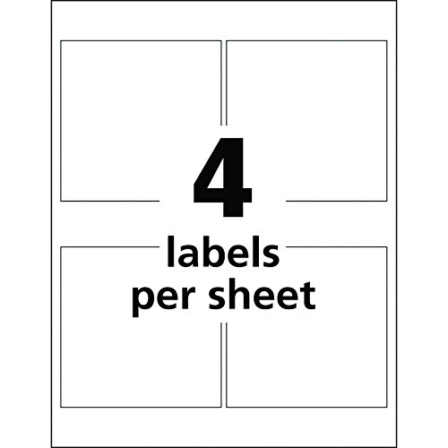 Avery UltraDuty GHS Chemical Labels for Pigment Inket Printers, Waterproof, UV Resistant, 4''x4'', 200Pk (60524) by Avery (Image #2)