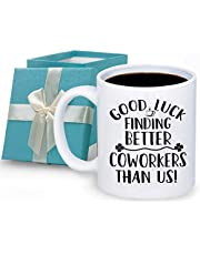 Going Away Gifts for Coworker Good Luck Finding Better Coworkers Than Us Mug Coworker Leaving Gifts Farewell Gift For Colleagues Friends 11oz Cup