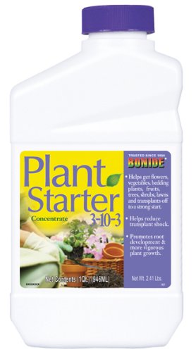 Bonide 161 1 Quart 3-10-3 Plant Starter Concentrate Plus Vitamin B-1