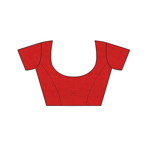 419P85nTM%2BL Anni Designer Women's Art Silk Saree With Blouse