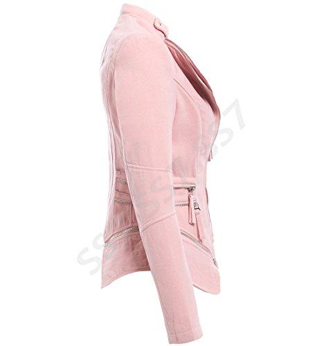 Femme Femme Ss7 Rose Blouson Blouson Ss7 x8ZUnfTgq