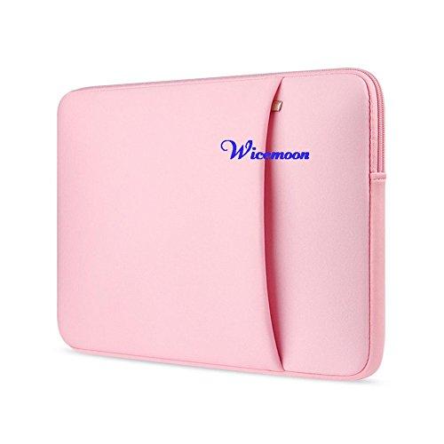 Wicemoon Funda para Ordenadores Portátiles Bolso de la Cubierta Caja de La Tableta para 15.6 Inch(Rosa): Amazon.es: Electrónica