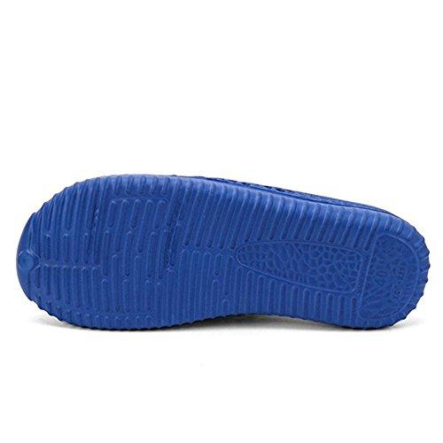 Noires Plage De Des De Jardin Pantoufle Glisser Unisexe Hommes Mules Ailishabroy Sur Chaussures Les Des Sabots Bleu Sandales Femmes 4ZnTq