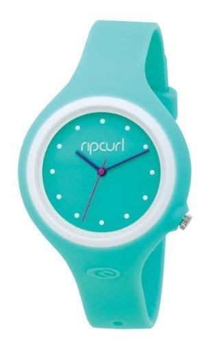 Rip Curl AURORA A2372G - Reloj de mujer de cuarzo, correa de goma color azul claro: Amazon.es: Relojes