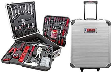 Maletín Aluminio con Ruedas Herramientas Profesional 699 Pzas.: Amazon.es: Bricolaje y herramientas