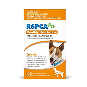 RSPCA Heartworm 6 Tablets for Large Dogs, 6 Count Click on image for further info.