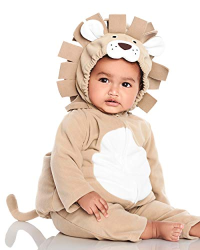 Carter's Halloween Costume Baby 2 Pieces (3-6 Months, Brown Lion)