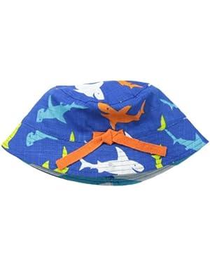 Baby-Boys Newborn Shark Sunhat