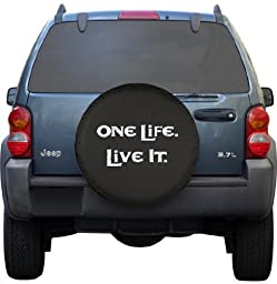 SpareCover BR-one-life-32-white Brawny Series Black Denim 32\