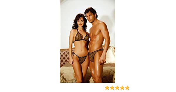Amazon.com  Wild Couple Mesh String Bra Top and Matching Tie Side G-string.  Matching Men s Thong.  Everything Else d9deff268