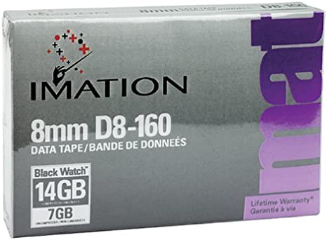 Discontinued by Manufacturer 8mm D8-160 Tape Cartridge