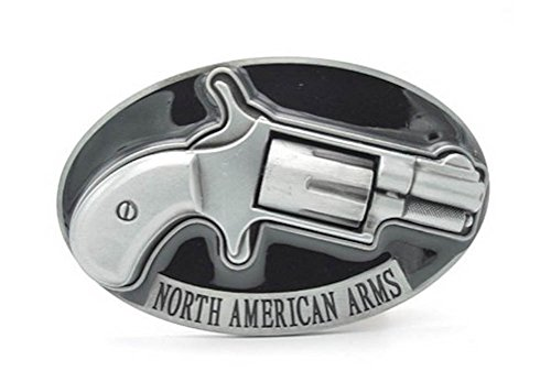 Silver North American Arms Spinner Belt Buckle (Arms Belt Buckle)