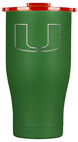 ORCA Chaser Laser Etched University of Miami Cooler, Green, 27 oz by ORCA