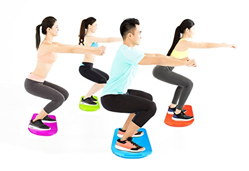 Fit Board The ABS Legs Core Workout Balance Board with a Twist Exercise Board Gets You Simply Fit with Total Body Work Out