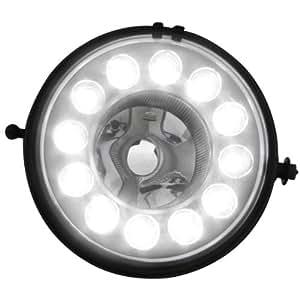 Dectane NLMI02LG - Luces antiniebla y diurnas para Mini Countryman, color negro