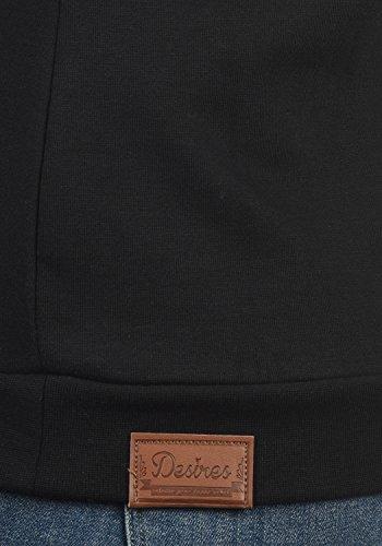Jersey Alto Cuello Con 9000 Sudadera Black Zipper Corta Chaqueta Mujer Vicky Desires Para zIvxgBw