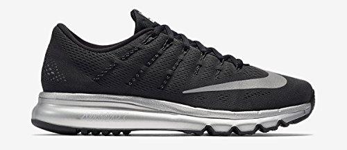 Silver Collection Nike Air (Nike Men's Air Max 2016 Premium Black Reflect Silver (11.5))