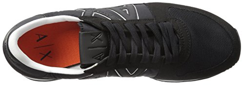 Fashion A Exchange X Armani Running Nero Retro Sneaker Sneaker Men qCaUBC